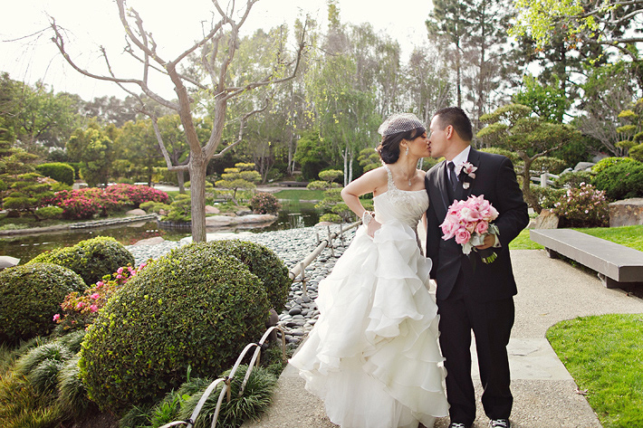japanese garden california wedding