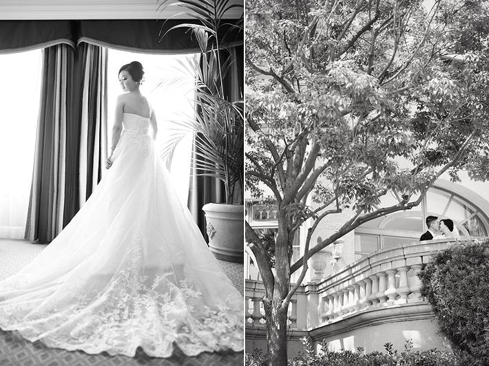 pasadena wedding photography, langham hotel pasadena wedding photography