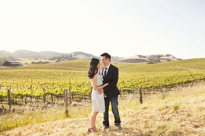 napa valley engagement photography, wine country engagement photography