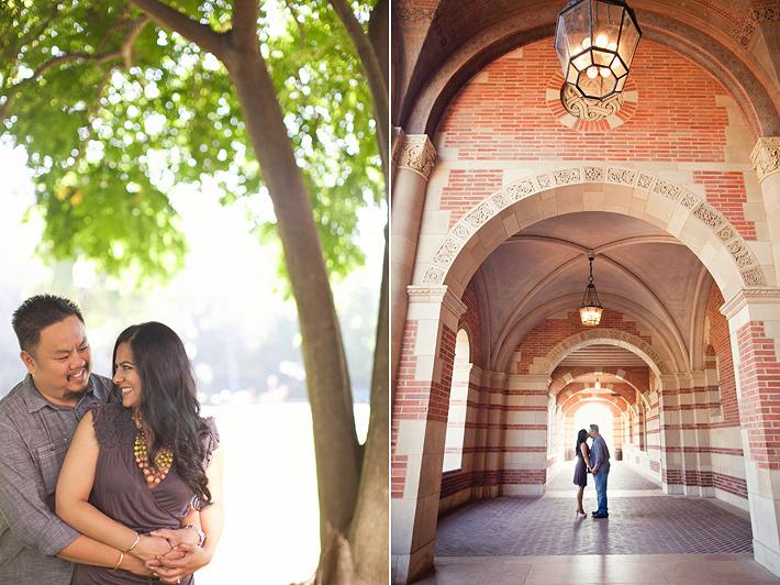 Los Angeles wedding photography, UCLA engagement photography, Griffith Park engagement photography, Los Angeles Indian wedding photography
