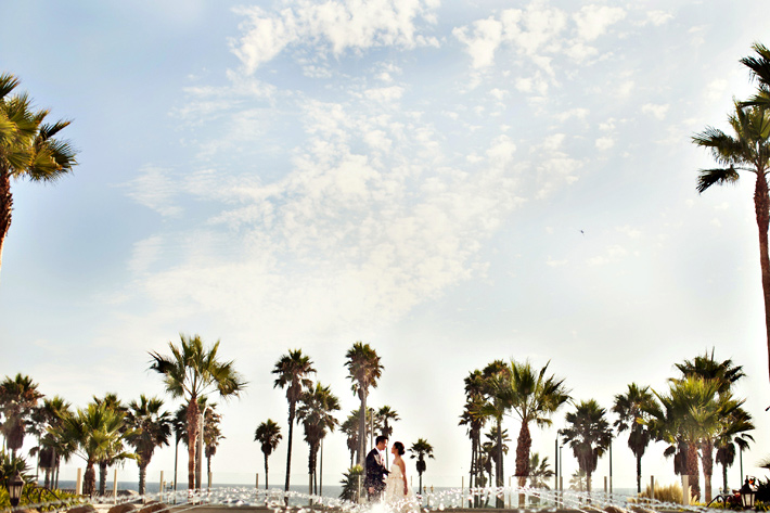 Huntington Beach wedding photography, Huntington Beach Hyatt wedding photography, Mele Amore weddings, Kim Le Photography, Orange County wedding photography, Vera Wang wedding dress