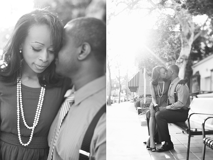 Claremont California engagement photography session