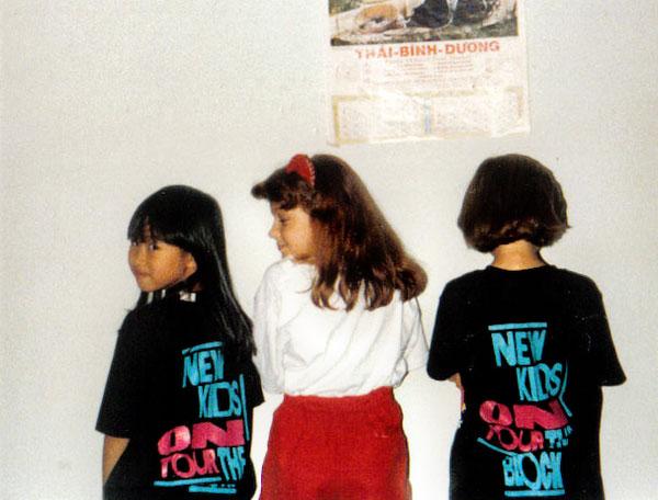 nkotb t-shirt